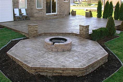 Pit On Concrete Patio by Concrete Pit2 Home Design Ideas