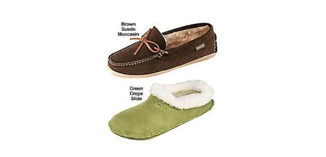 cabela slippers cabela s s suede moccasins and crepe slide slippers