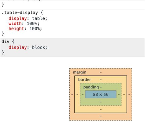 css tutorial display table html css display table with fractional pixel width