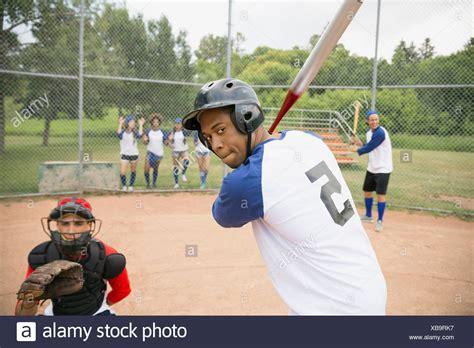 Baseball Cap Ready Stock Topi Baseball 7 holding softball bat stock photos holding softball bat stock images alamy