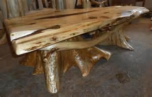 Cedar Coffee Table Cedar Slab Table Rustic Table Cedar Stump