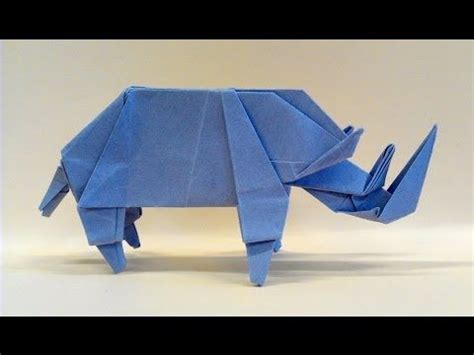 How To Make Origami Rhino - m 225 s de 1000 im 225 genes sobre paper crafts en