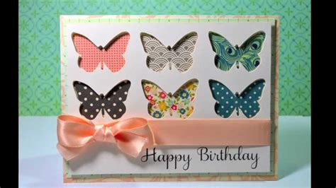 card butterfly happy birthday butterfly card