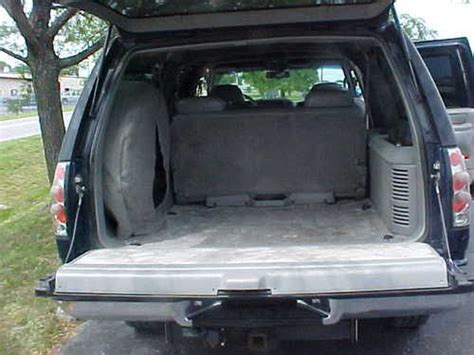 suburban 3rd row seat stuck upright sell used 1996 gmc suburban ss454 4wd leather seats tow