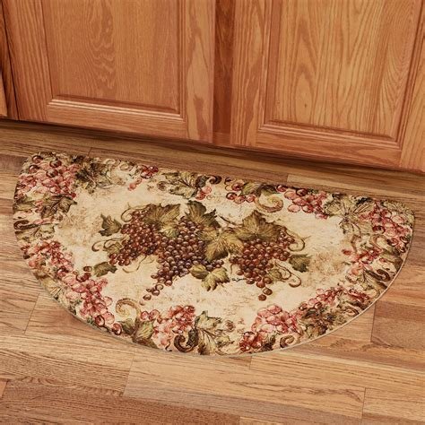 Vineyard Kitchen Rugs Kitchen Accessories Grapes Home Decoration Club