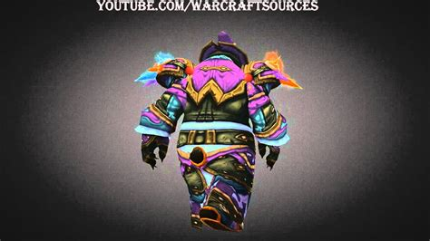 challenge mode mage pandaren mage challenge mode set elemental triad armor