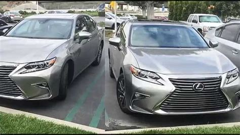 silver lexus 2016 spotted 2016 lexus es 350 in atomic silver youtube