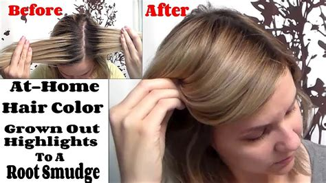 how to blend roots root smudge how to blend a highlighted demarcation line