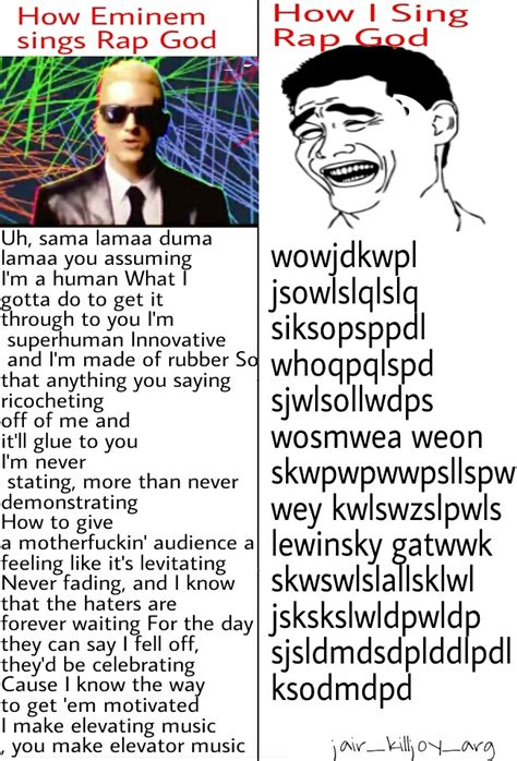 Rap God Meme - memedroid images tagged as eminem page 3