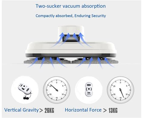 Vacuum Cleaner Tangan smart robot vacuum cleaner pembersih kaca anti falling white jakartanotebook