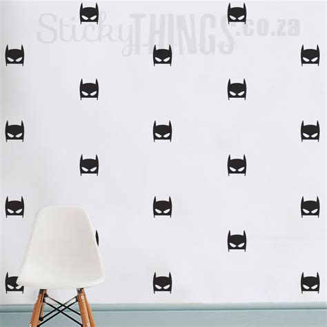 Super Hero Wall Stickers superhero boys wall decal batman wallpaper like sticker