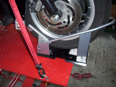 harbor freight lift what chock to use harley davidson