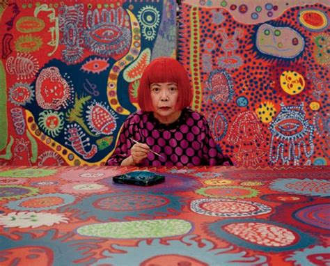 japan painting show yayoi kusama returns to new york with a new show at david