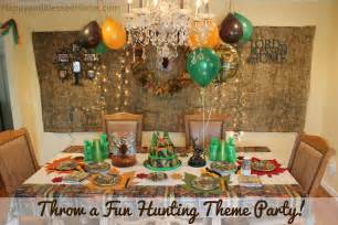 Camo Baby Shower Decorations Camouflage Hunting Theme Party Fun Happy And Blessed Home
