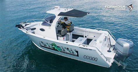 center cabin fishing boat tomahawk offshore centre cabin formosa marine