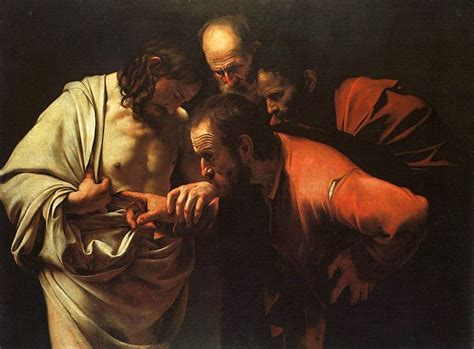Lovely What Day Do Jehovah Witnesses Go To Church #8: Caravaggio_-_The_Incredulity_of_Saint_Thomas.jpg