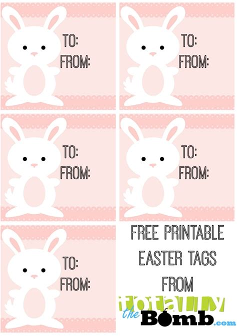 printable easter themed name tags free printable easter tags