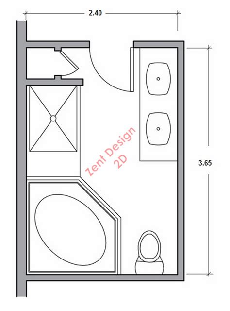 Bathroom Pdf by Bathroom 44 Plans Pdf Zent Design 2d