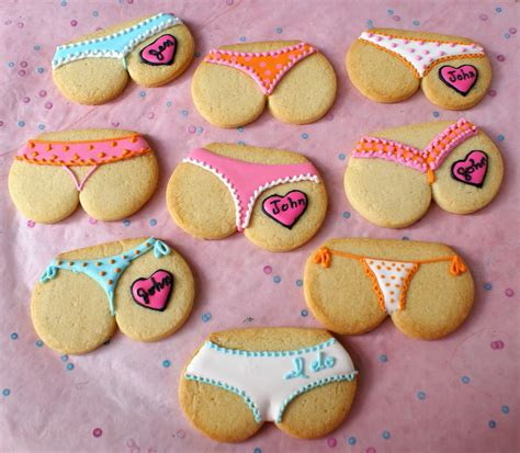 Bridal Shower 'Tushie Cookies'! ~ Free ideas of beauty