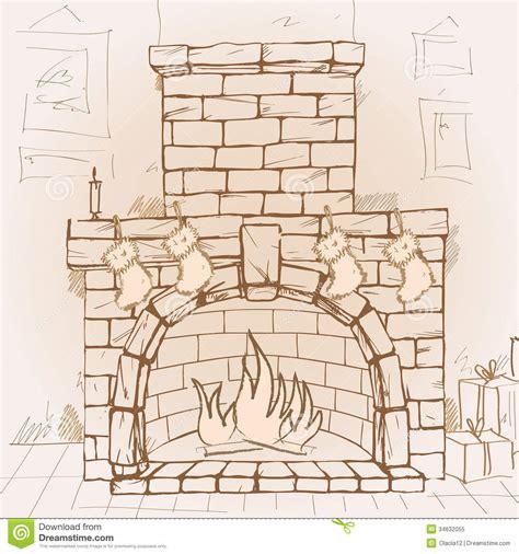 fireplace royalty free stock photo image 34632055