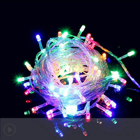 waterproof 200 1000 led string fairy light christmas xmas