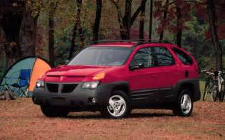 2001 Pontiac Aztek Pontiac Aztek Front Three Quarters Cside Photo 24