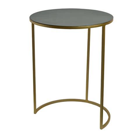 side table set of 2 buy pols potten enamel side table set of 2 green beige