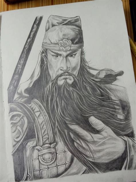 dynasty tattoo dynasty warriors the guan yu this drawing is from my