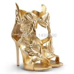 Gold high heel gladiator sandals promotion shop for promotional gold
