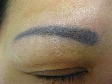 tattoo eyebrows grey old fashioned makeup trends