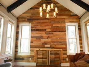 Diy Home Interior wall pallet wood wall paneling stairway and living room diy