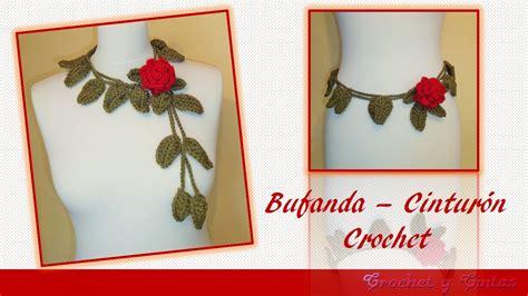 como usar la bufanda como usar la bufanda bufanda cintur 243 n con rosa tejida