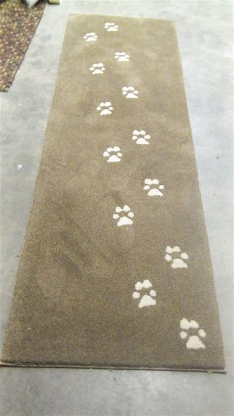 paw print rugs pawprints great rug for a lover cat and other animals