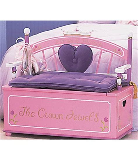 princess toy chest bench levels of discovery princess toy box bench