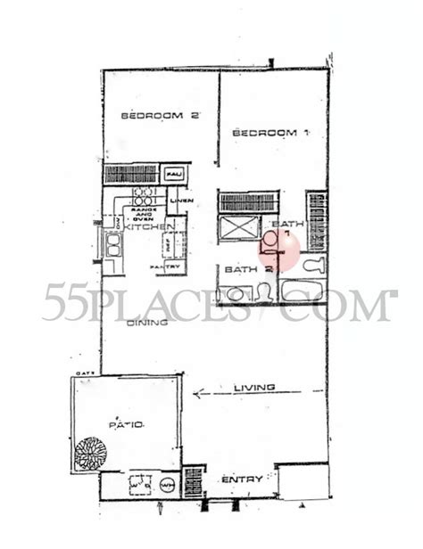 huntington floor plan pacifica floorplan 1132 sq ft huntington landmark