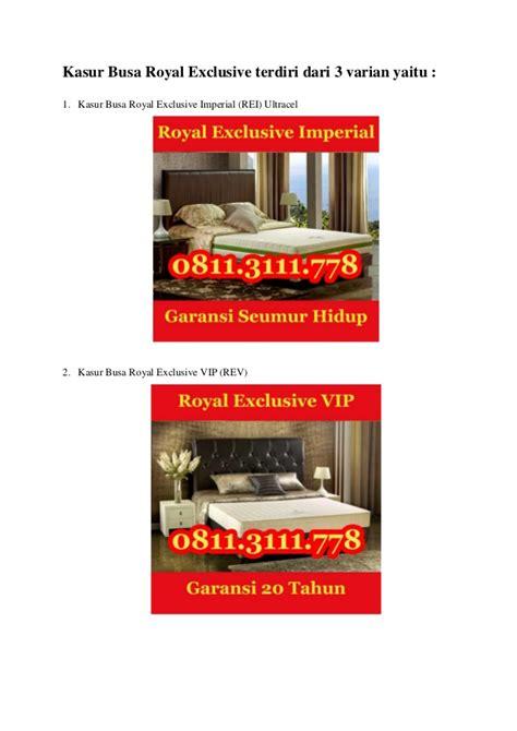 Daftar Kasur Busa Royal Foam 0811 311 1105 jual kasur busa surabaya kasur busa royal