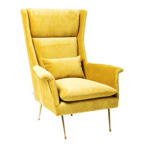 Zara Armchair Vegas Forever Yellow Arm Stoel Geel Oker Home Stock