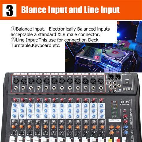 Power Mixer Haymer Pmv 120 U 12 Channel 250watt Asli Murni ct 120s 12 channel professional live studio audio mixer power usb mixing console alex nld