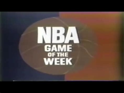 The Week Of Pr by Nba On Abc Of The Week 1970 Abc Sports