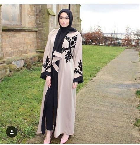 Baju Lebaran Black baju lebaran muslimah fashion style niqab