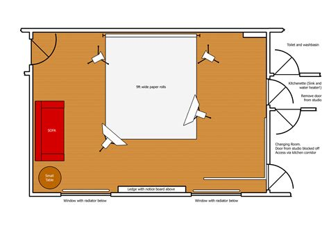 plans design studio layout ian s studio