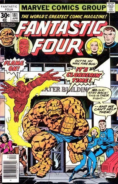fabf7ntastic four side 1 tx fantastic four 181 side by side with annihilus issue