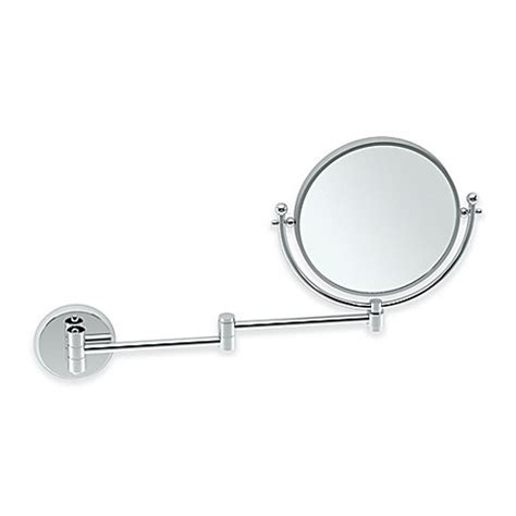 swing arm vanity mirror buy gatco 15 inch swing arm 1x 3x vanity mirror in chrome