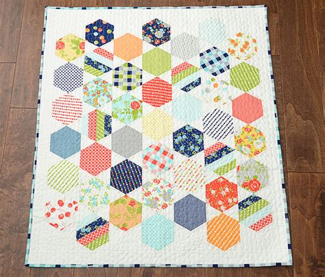 Hexagons Quilt Patterns by Hexie Tips For Hexagon Quilts