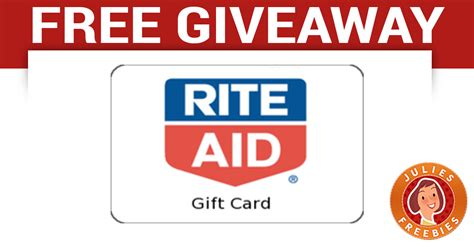 Gift Card Giveaway On Facebook - free rite aid gift card giveaway julie s freebies