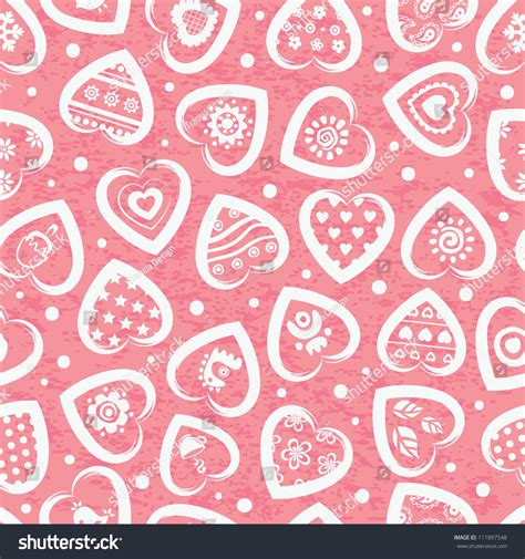 z pattern heart sounds heart pattern stock vector illustration 111897548