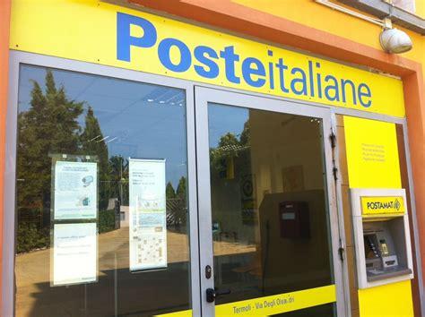 poste italiane orari uffici postali letino e valle agricola uffici postali a rischio chiusura