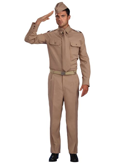 World War 2 Outfits | world war 2 army costume adult retro army private costumes