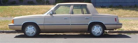 Chrysler K Car For Sale by The Success Of The Dodge Aries