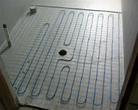 Diy Heated Floor by Diy Floor Heating Kits From The Floor Heating